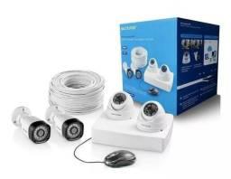 Kit De Segurança 4 Câmeras Ahd 720p Se118 Multilaser