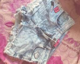 Shortes jeans R$20$
