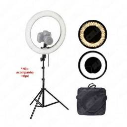 "Iluminador Led Ring Light 13,5"" 35cm 3500/5500k"