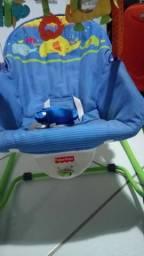 Cadeira balanço frisher price