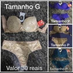 Vende-se conjunto lingerie