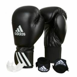 7263cd08a Kit Luva Boxe e Muay Thai Adidas Speed 50