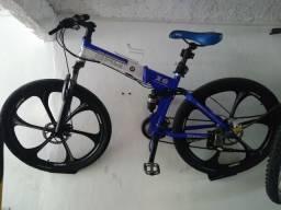 Bicicleta bmw x6 dobrável alemã aro 26