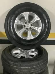 Jogo de rodas com pneus FRONTIER 18/19 R$ 4.300,00 - 2018