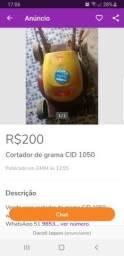 Cortador de GRAMA ELÉTRICO CID 1300W TORRO LEIA ATENÇÃO