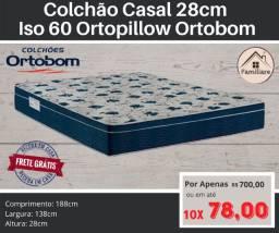 Colchão de Casal Ortobom Iso 60 D28!