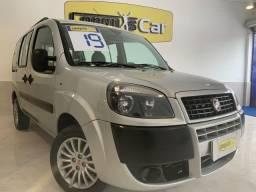 Fiat Doblô Essence 2019 7 Lugares 1.8 Completa C/ GNV e 1 Ano de Seguro Grátis
