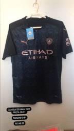 Camisa Man City Preta