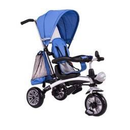 Triciclo Multifuncional 3 em 1 (Azul/Rosa)