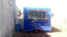 Vendo Trailer Food Food Truck Carrinho de Lanches
