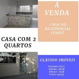 Vendo casa no residencial itaipú