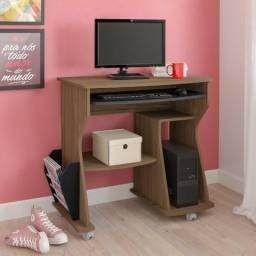 Home office amendoa/branco/pinho modelo 160