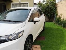 Honda Fit 1.5 2015 Branco Entrada de 18.000
