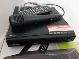 Dvd e Karaoke Philco PH148 com Entrada USB e Ripping