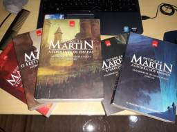 As Crônicas de Gelo e Fogo - George R. R. Martin - Livros 1 a 5