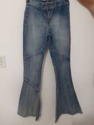 Calça Jeans Flare TNG Usada