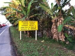 Vendo terreno de chácara em Guaratuba 2.982mts frente Pr412