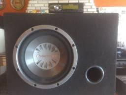 Radio MP3 e Caixa de Som