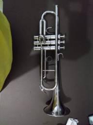 Trompete + Estojo - Usado