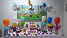 Decoração de festa Mundo Bita- Usada uma única vez