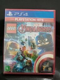 Jogo PS4 vingadores Lego em português novo lacrado