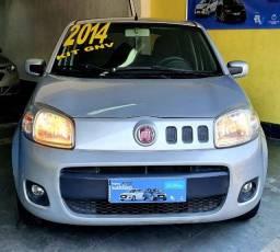 Fiat Uno 2014 com GNV