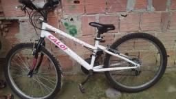 Bicicleta Caloi semi novo