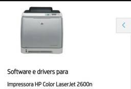 Impressora HP Color laser jet 2600n