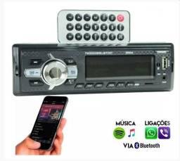 Rádio Automotivo Bluetooth copamix com USB e Mp3 83024 - Usado