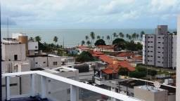 REF: COB001 - Cobertura Duplex a venda, João Pessoa, Bessa, 2 quartos, vista para o mar