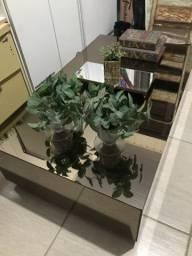Mesa centro em espelho
