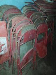 40 cadeira de ferro