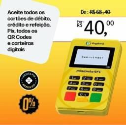 Maquininha Minizinha NFC PagSeguro Promoção