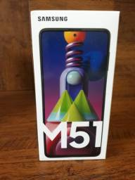 Samsung M51 Branco 128gb Novo,na caixa Lacrado!