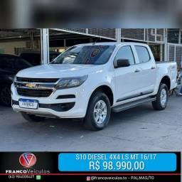 S10 LS Diesel 4X4 MT 16/17 R$ 98.990,00
