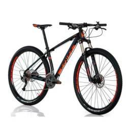 Bicicleta Sense Impact Pro 2018 27V Alivio Aro 29 Preto e Laranja<br><br>