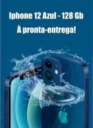 Iphone 12 Azul de 128 Gb - Caixa Lacrada