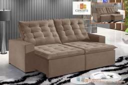 Sofá Retrátil e Reclinável Confortável