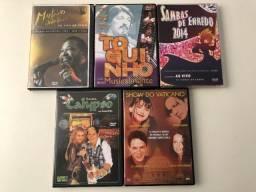 Coleção Dvds Musicais Diversos !!
