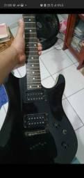 Guitarra kort kx5 troco por baixo com cubo