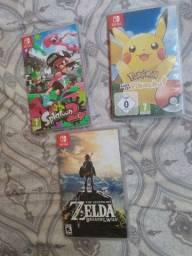 Jogos Nintendo Switch (Valores na Descrição)