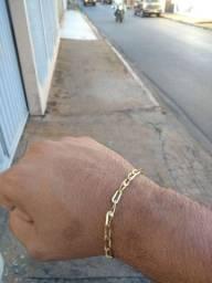 Pulseira ouro laminado Nova