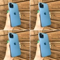 IPHONE 12 PRO MAX AZUL 256GB - NOVO LACRADO