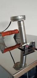 Churrasqueira elétrica giratória