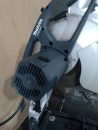 Serra rápida poli corte portátil usada somente 1 hora de trabalho makita