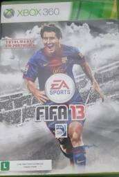 Jogo Futebol Fifa 13 Xbox360 seminovo