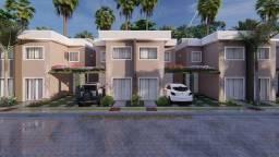 Casa duplex com quinta e área de lazer completa - 85m2. Condomínio Reserva Bolonha