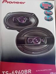 Alto falante 6x9 pioneer 100w rms cada lado #nf vendas 2021
