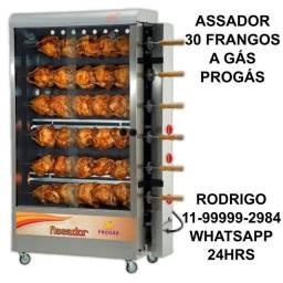 Oferta relâmpago maquina de frango 30 Frangos 6 espetos