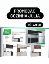 PROMOÇÃO COZINHA JÚLIA COMPLETA